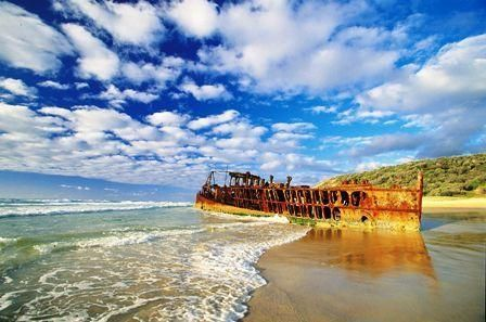Fraser Island, Australia - I would love to take a month and travel Australia. Fraser Island is tops on the list!