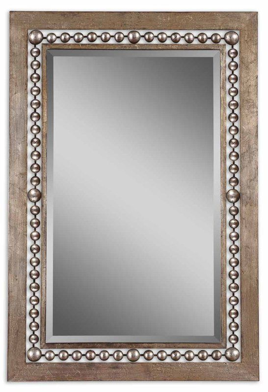 Buy The Uttermost 13724 Antique Silver Leaf Direct Shop For Fidda Mirror And Save