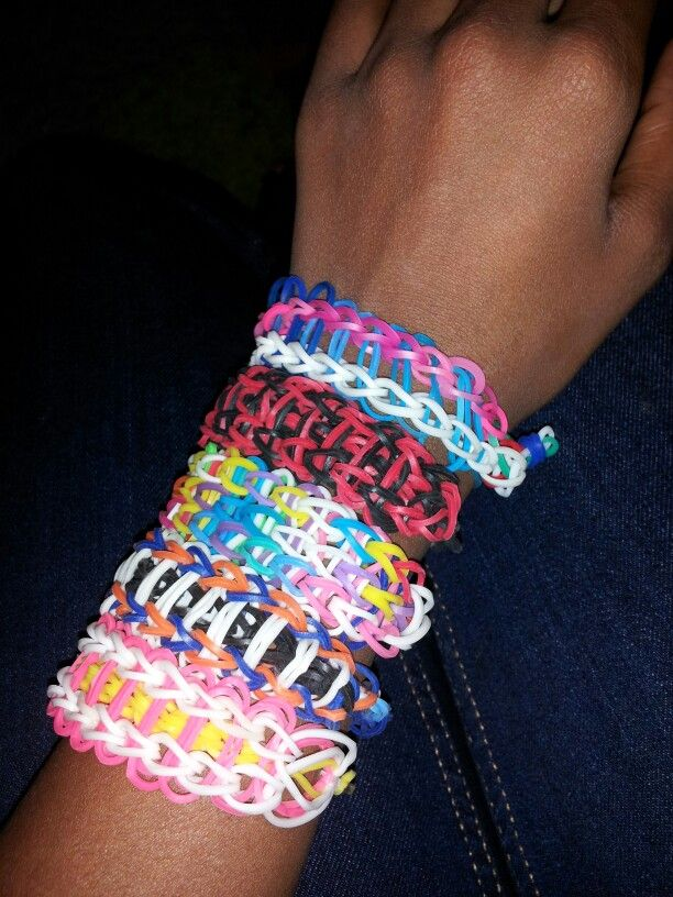 how to make crazy loom bands