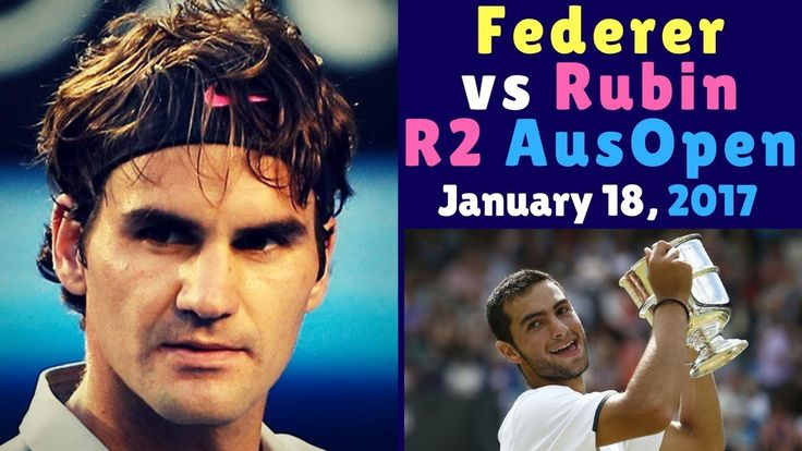 🏅 Roger Federer vs Noah Rubin – Australian Open 2017 R2 – Highlights HD ...