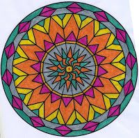 Mejores 55 imgenes de mandalas pintados en Pinterest Fondos