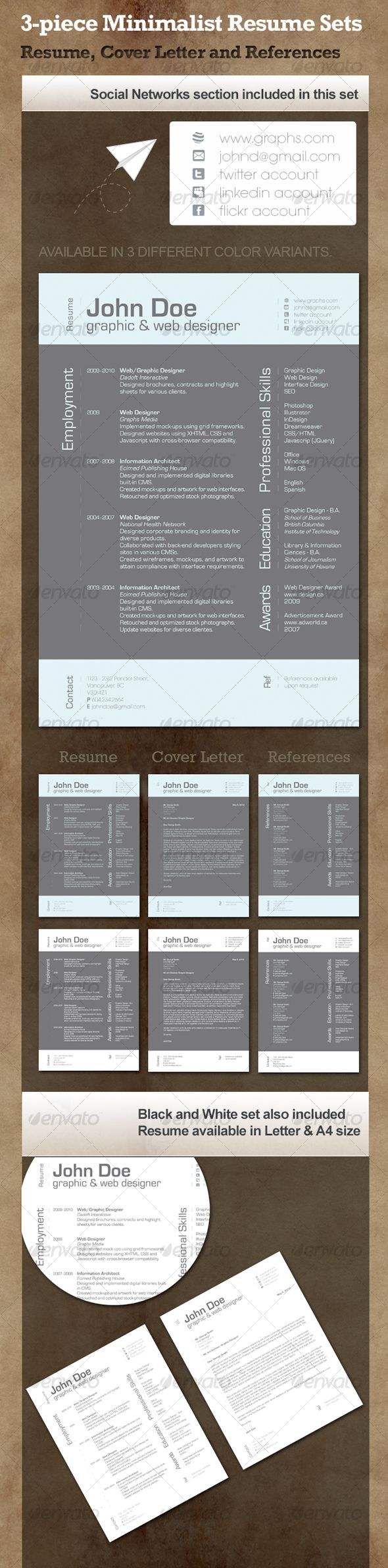 Here are some great resume templates 862