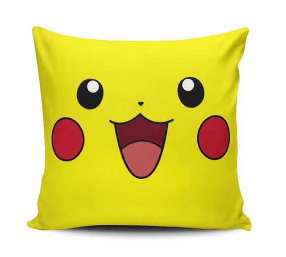 Capa Almofada Pokemon PIKACHU 40cm