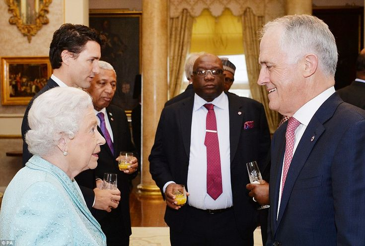 Prime Minister Malcolm Turnbull - an avowed republican who led a failed attempt to separat...