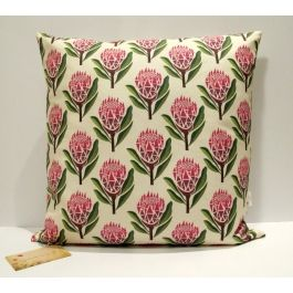 Pretty Proteas Cushion Cover - Decor & Homeware - Home & Living | Buy Online in South Africa | MzansiStore.com