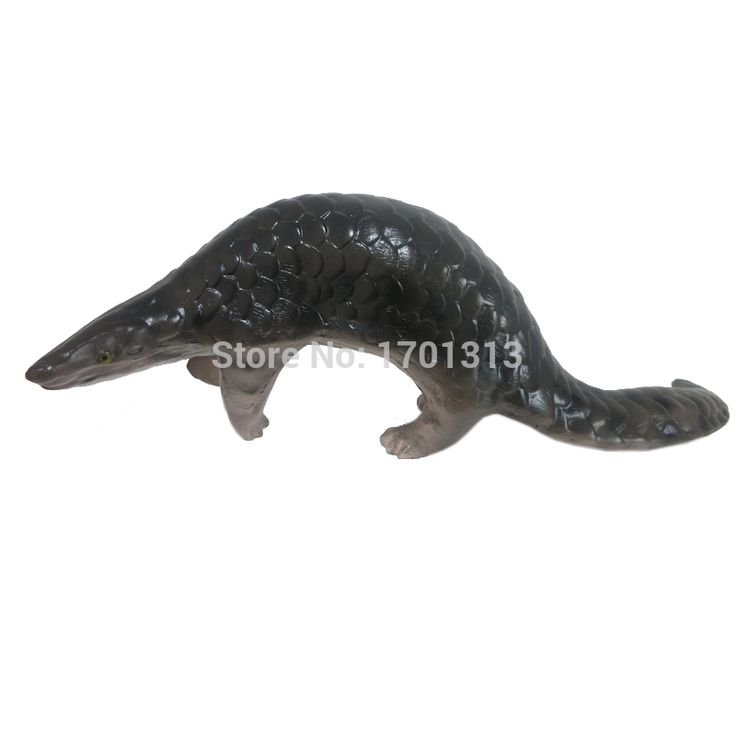 1:1 Pangolin model  Special decoration Family personalized decorative Figurines