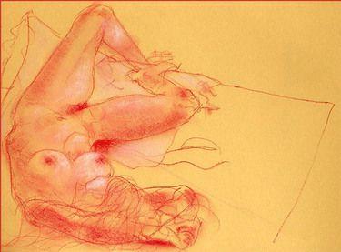 "Saatchi Art Artist Franco Fusari; Drawing, ""Chiara II - D067"" #art"