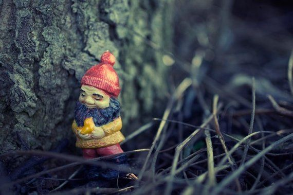 This Tree Makes me happy  Dwarf Elf Gnome Toy by aptrick on Etsy, $35.00
