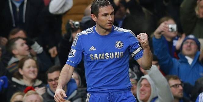 Lampard a marqué son 200e but pour Chelsea lors de la rencontre face à son club formateur de West Ham ! (Reuters)