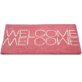 Welcome rosa - dörrmatta