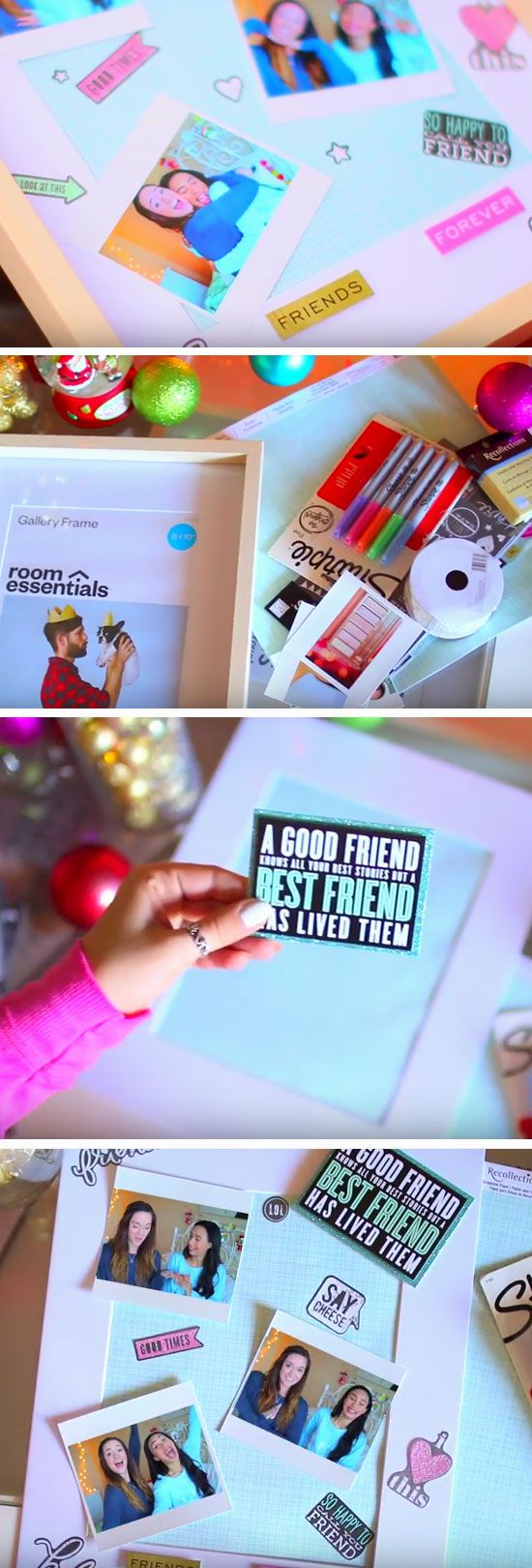 Scrapbook notebook ideas - 35 Diy Christmas Gifts Every Teen Girl Wants For 2016