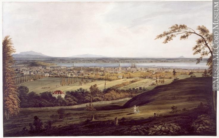 Montréal en 1832., James Duncan (1806-1881), 1832, 19e siècle // Montreal in 1832., James Duncan (1806-1881), 1832, 19th century