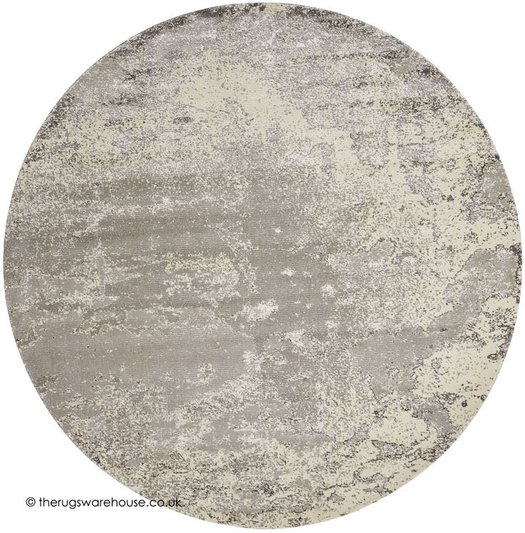 twilight chic bone circle rug a cream beige u0026 grey viscose u0026 wool machine
