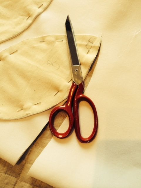 A stitch and a snip...a work in progress.
