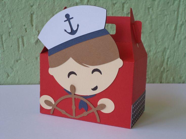 caixa marinheiro em papel 180g