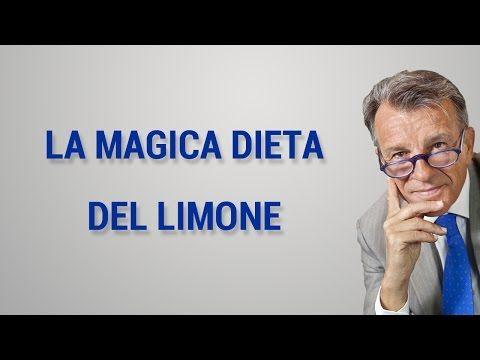 Acqua e limone per dimagrire con ricetta per perdere peso - YouTube