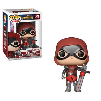 """Pop! Games: Marvel – Contest of ChampionsThe mobile fighting game Marvel - Contest of Champions is coming to Pop!As you assemble your ultimate team of champions you can now havePop! versions of some of your favorite characters!This series includes King Groot, the mystical Guillotine,Civil Warrior, and Venompool. Rounding out the series comes a 6"""" version of Howard the Duck in his very own """"Duck Mech!""""Look for exclusives!At Hot Topic find a Secret Empire version of Civil Warrior!A s..."""
