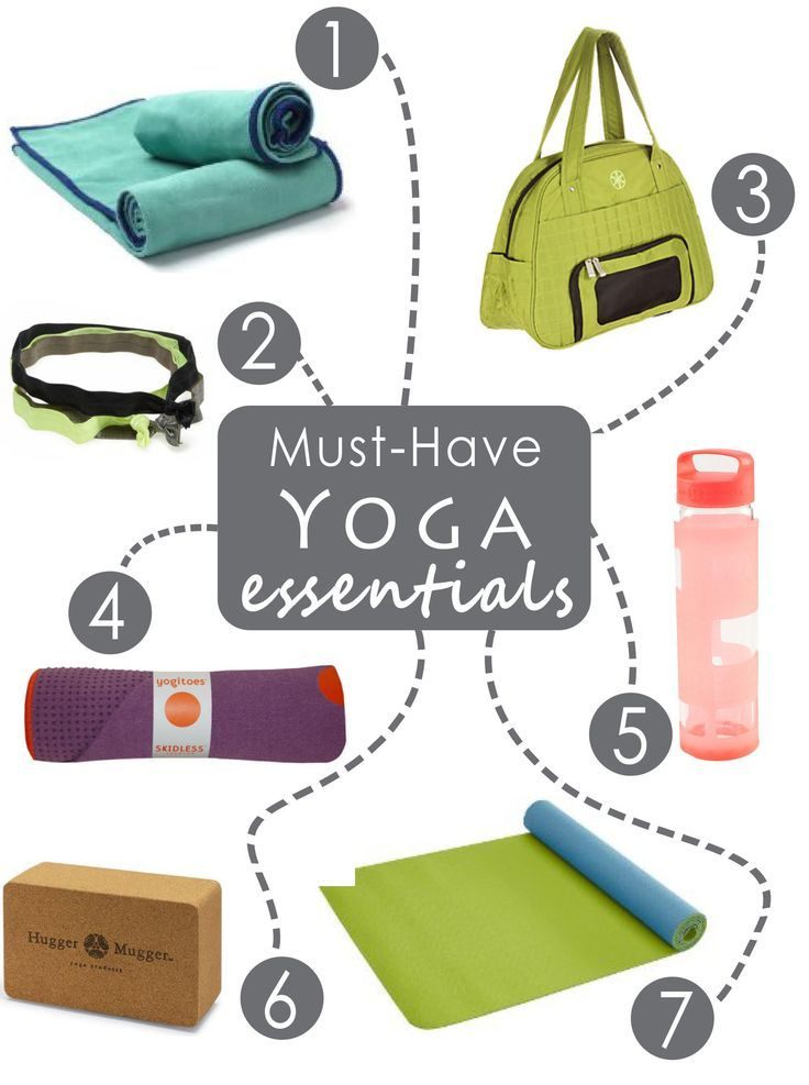 Seven Must-Have Yoga Essentials for Your First Class - Anytime Health: