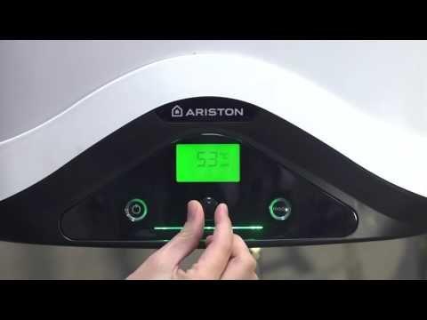 NUOS EVO Installation and set up ARISTON - YouTube
