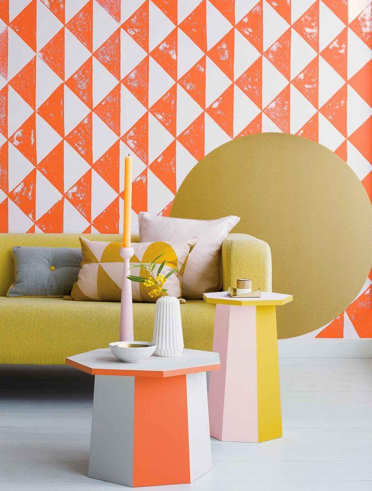 332 best Formen  Farben images on Pinterest Bedrooms, Color blue - gestreifte grne wnde