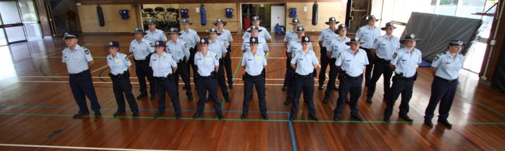 Police Recruit Training, Group 523 – Update 2: Group 523 has now completed eight weeks of the PROVE recruit training program and stand proudly in full uniform for parade each morning.