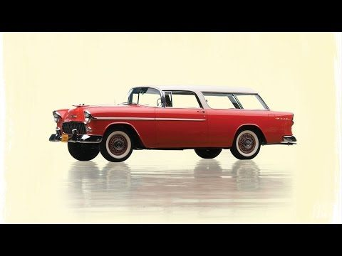 Handsome 1955 Chevrolet Bel Air Nomad station wagon up for auction - RM ...