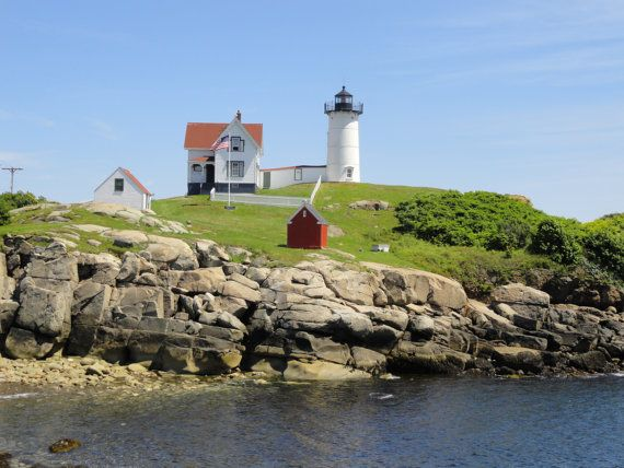 Maine Lighthouse Photos and Wall Art by Trish Helsel by TFAS