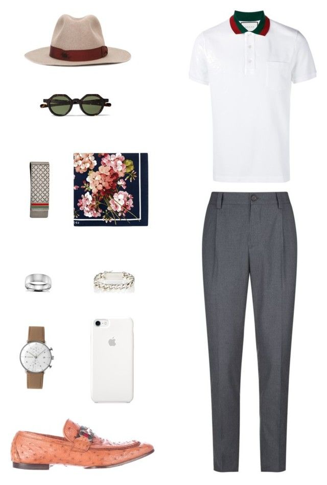 """""""House of Madalani"""" by houseofmadalani on Polyvore featuring Brunello Cucinelli, Gucci, Junghans, Blue Nile, Sidney Garber, Borsalino, men's fashion and menswear"""