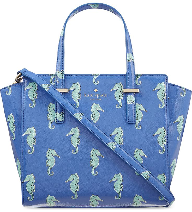KATE SPADE NEW YORK - Small Hayden seahorses tote | Selfridges.com