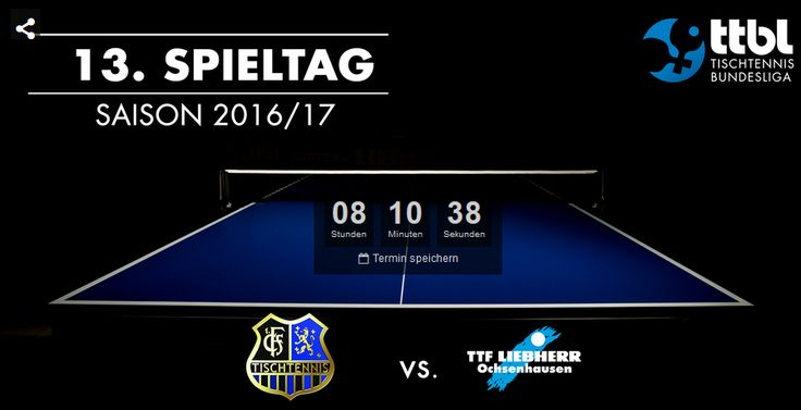 TTF Liebherr Ochsenhausen vs. Post SV Mühlhausen en direct à 19H | actualité du tennis de table et du ping pong