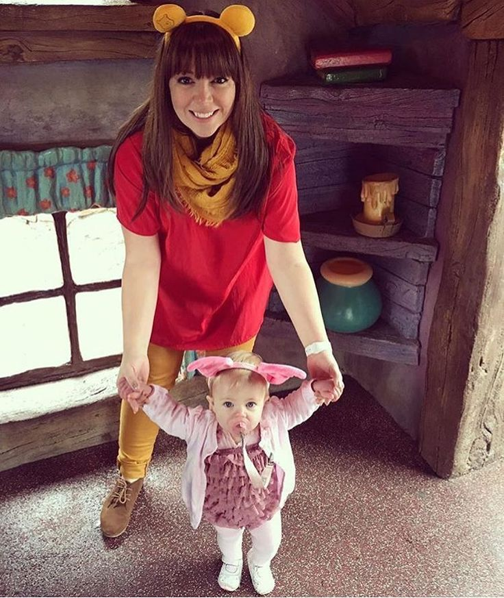 This is so precious, it hurts!  @tabathamprice #disney #disneybound #fashion #winniethepooh