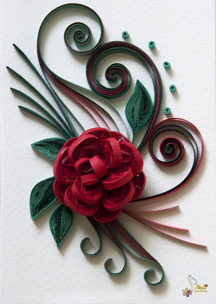 Best 2838 paper quilling flowers trees garden images on for Quilling craft ideas