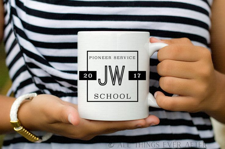 Pioneer School Gift | JW | MUG | Fully Accomplish Your Ministry | 2 Tim 4:5 | Elder's | Gift | Baptism | Present | Jw Org 3 by AllThingsEverAfter on Etsy