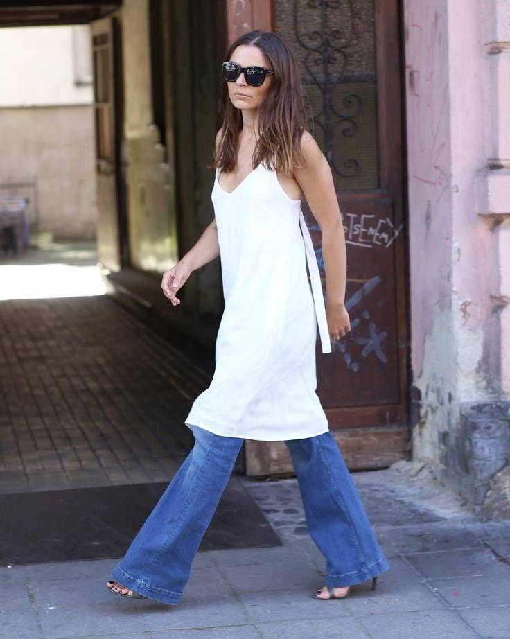 White dress - AGNESA ADAMCZAK