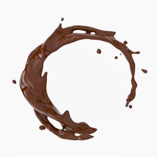 A Splash Of Chocolate Premium Photo Premium Photo Freepik Photo Food Coffee Abstract Waves Coffee Poster Design Chocolate Logo Candy Icon