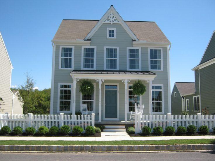 81 best house colors images on Pinterest | Best exterior paint ...
