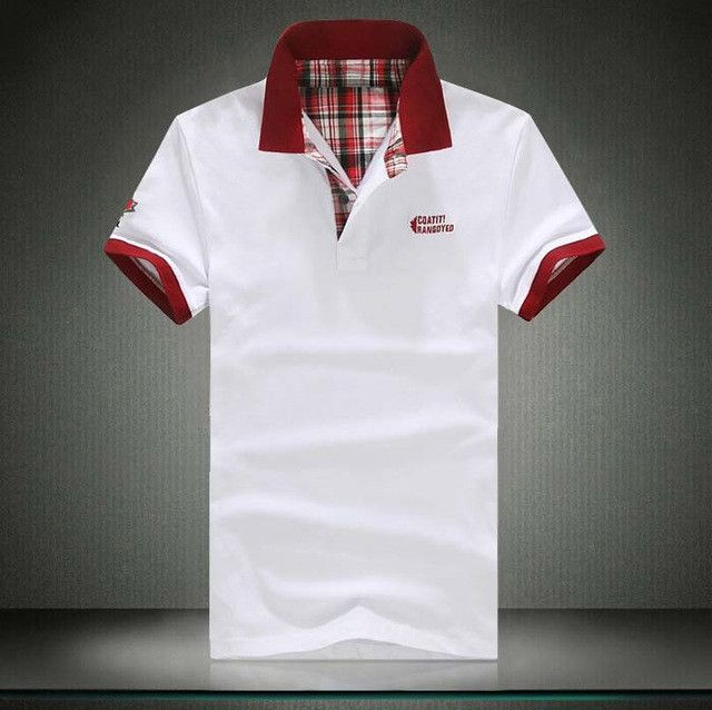 5 Color big size S- 5XL XXXXL XXXL XXL XL Embroidered Cotton Polo shirts New Men's Fashion Shirt Mens Short Sleeve polo Shirt