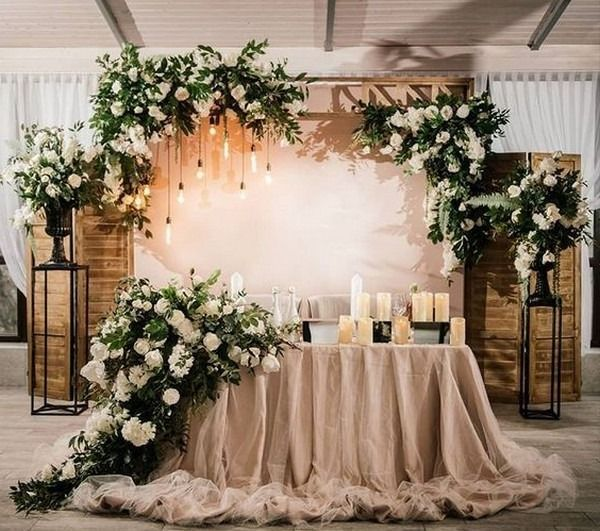20 Wedding Sweetheart Table Ideas For Every Season Oh The Wedding Day Is Coming In 2020 Head Table Wedding Sweetheart Table Wedding Wedding Reception Head Table
