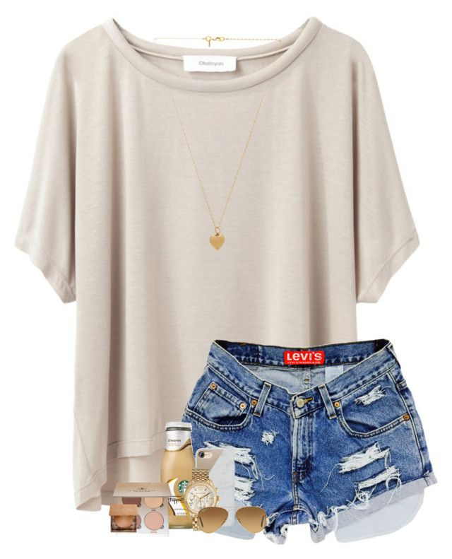 """""""spirit week is coming up!!"""" by kendallthackston on Polyvore featuring Grey Line By Hussein Chalayan, Native Union, Anastasia Beverly Hills, Urban Decay, Vanessa Mooney, Michael Kors and Ray-Ban"""