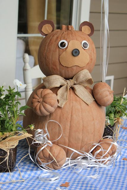 Pumpkin bear!