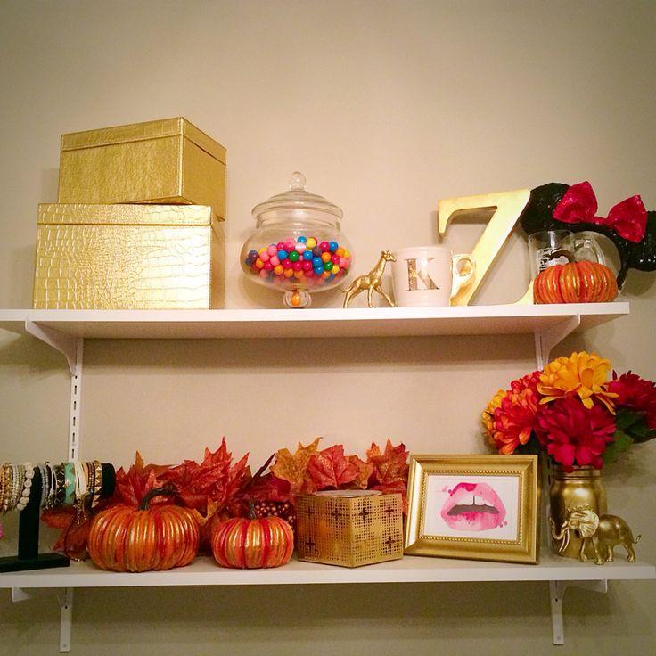 Fall inspired shelf