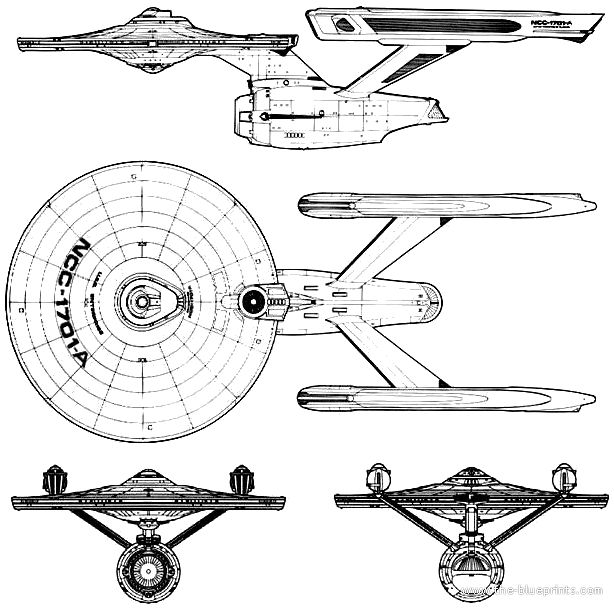 blueprints  uss enterprise ncc