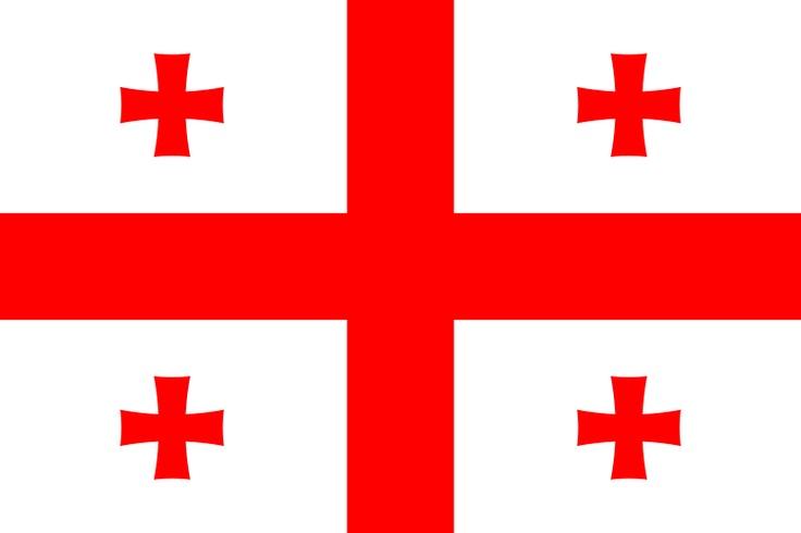 Bandera de Georgia.