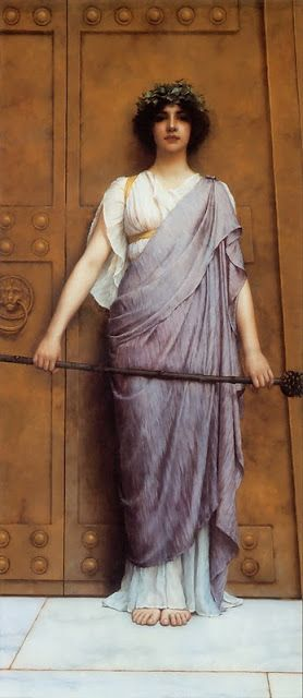 Symbols in Art: The Thyrsus