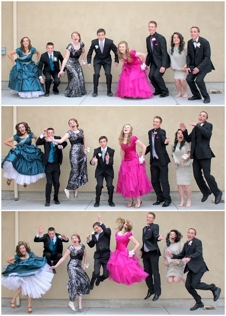 Jumping prom pictures!