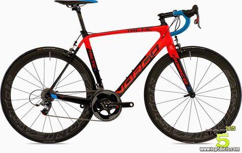 TOP 5 - BICICLETAS DE CARRETERA: Norco TACTIC SL RED, una bici desconocida pero esp...
