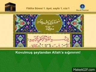 Hafız İshak Danış  1  cüz  video hatim is an animated gif that was created for free on MakeAGif.