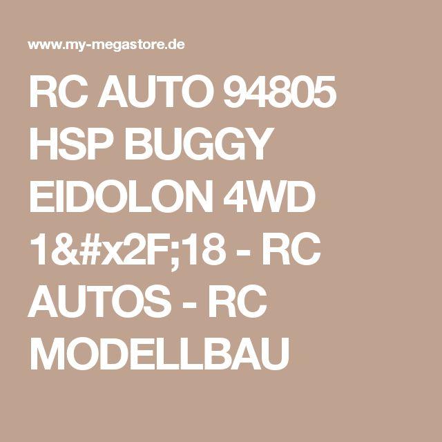 RC AUTO 94805 HSP BUGGY EIDOLON 4WD 1/18 - RC AUTOS - RC MODELLBAU