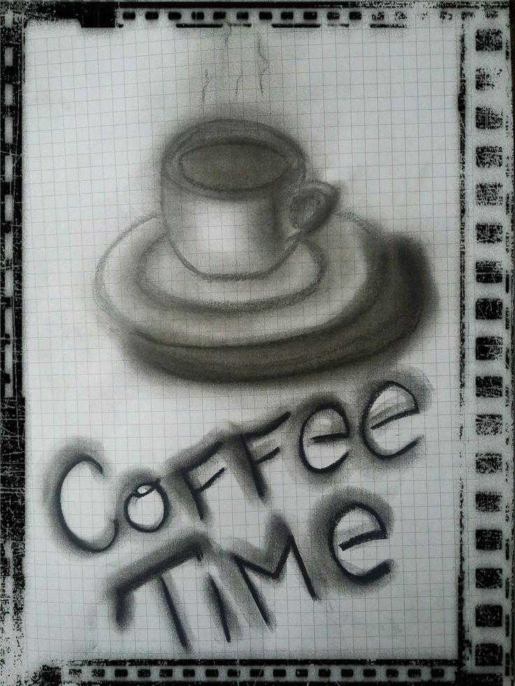 Coffee time B&W by J.Bidix