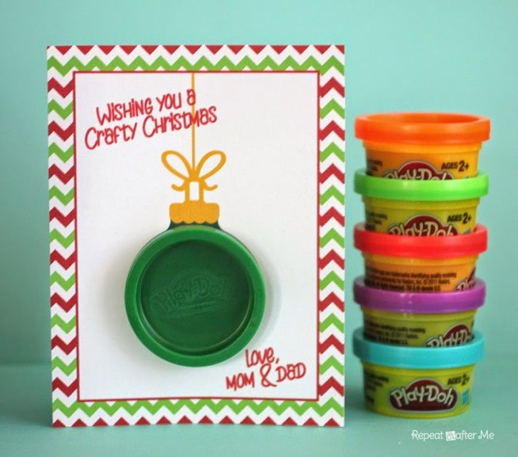 Play-Doh Ornament Gift Card